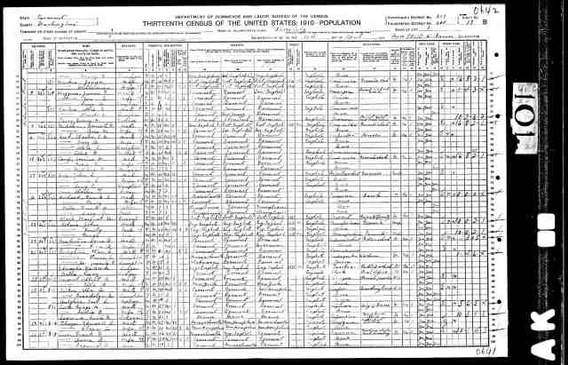 1910 census marguerite g stoughton