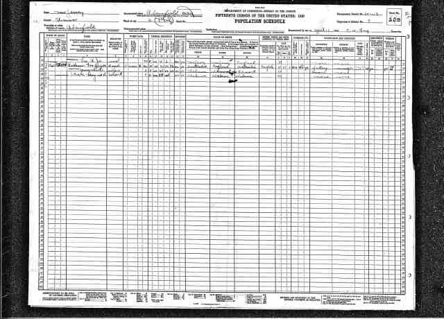 1930 geoff rollason census