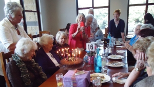 Elsa's 98th B'day front left