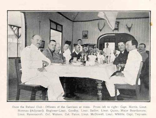 Garrison Rabaul club