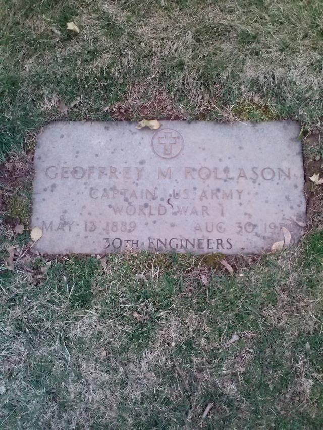 Geoff Rollason Grave