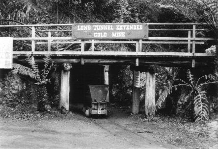 Long tunnel gold mine
