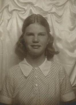 Mary Rollason, mum's sister
