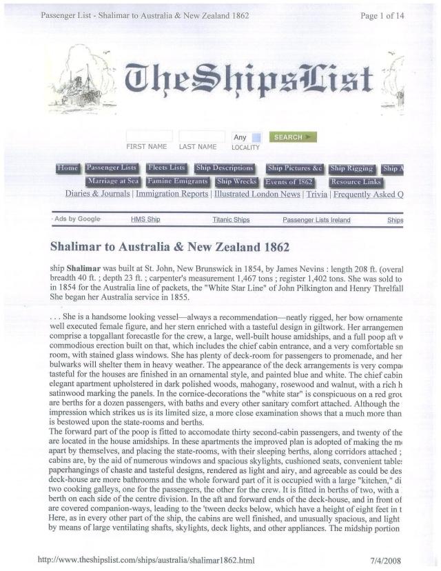 shalimar 1862