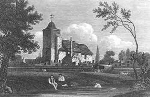 St_Pancras_Old_Church_in_1815