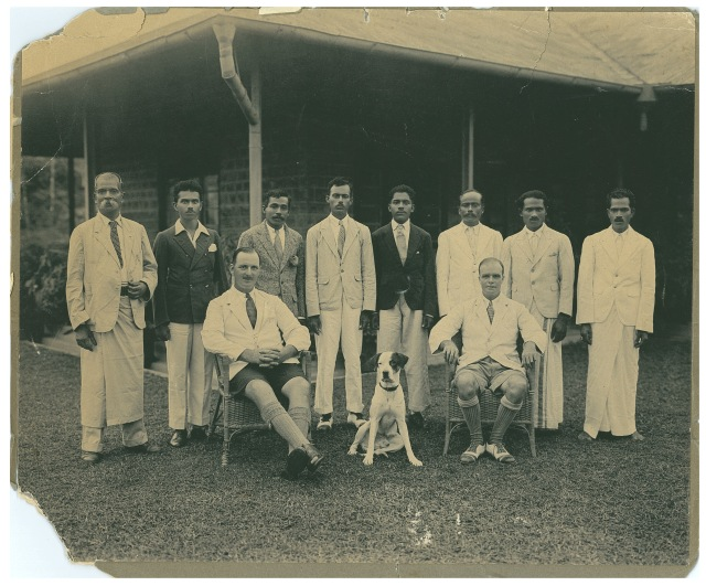 Tim Rollason Staff in Ceylon Circa 1930