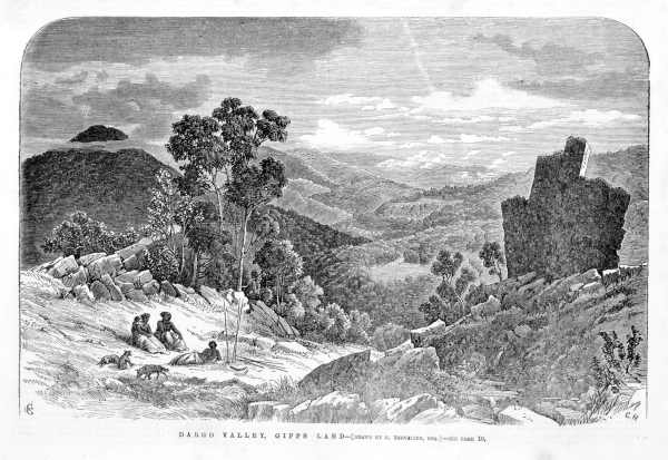 dargo valley gippsland 1864 where the Fosters had property