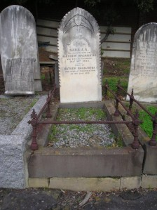Macalister grave kew