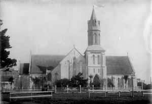 St Paul's church, Auckland 1880's.