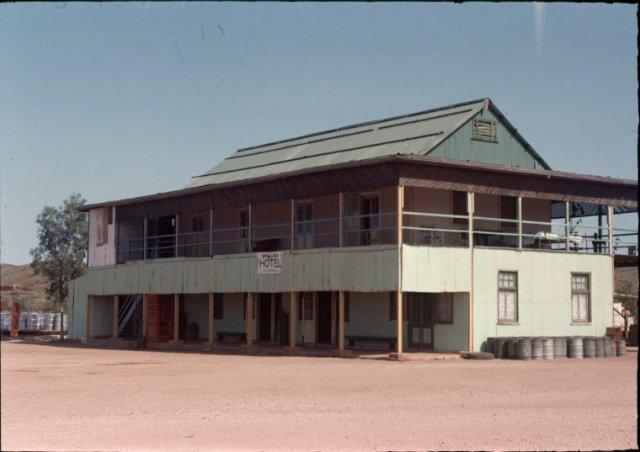 whim creek hotel 1960's