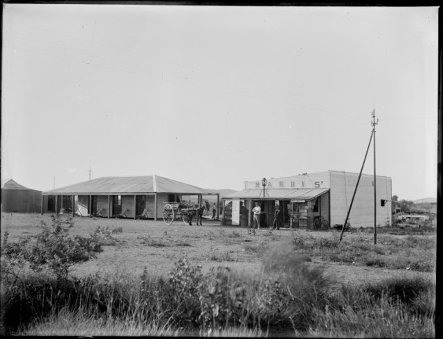 william harris's store whim creek 1910 near the croydon station