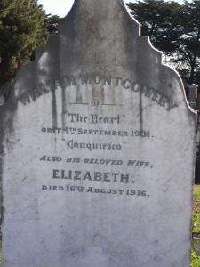 william montgomery grave with eliza