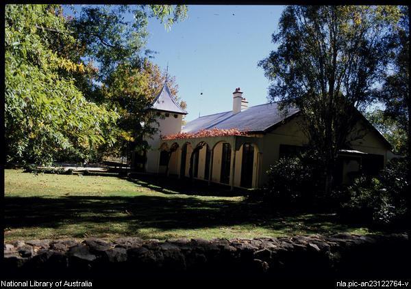 woomargama station homestead garden , 2000