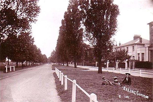 ealing common early 19th century - the home would have been overlooking this