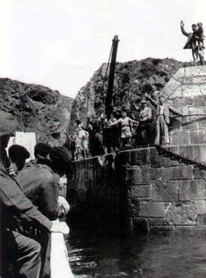 Liberation of Sark May 10th 1945