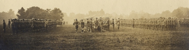 no 6 cadets training in an oxford park
