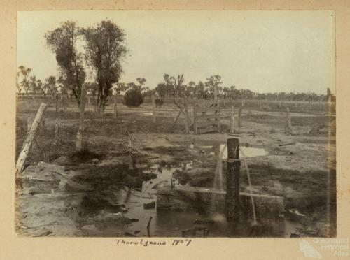 thurulgoona bore c 1910