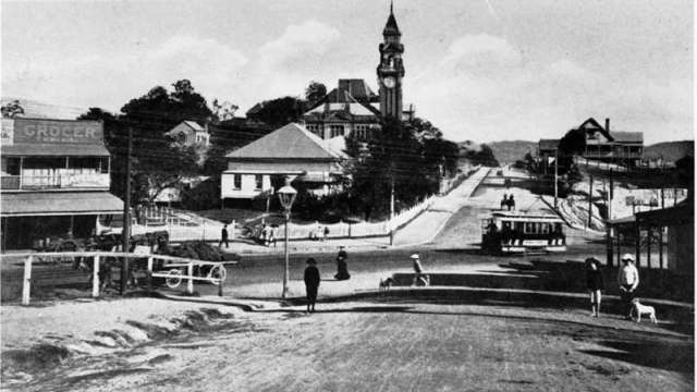 vulture and stanley streets ca 1907 south brisbane