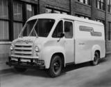 burroughs demonstration van