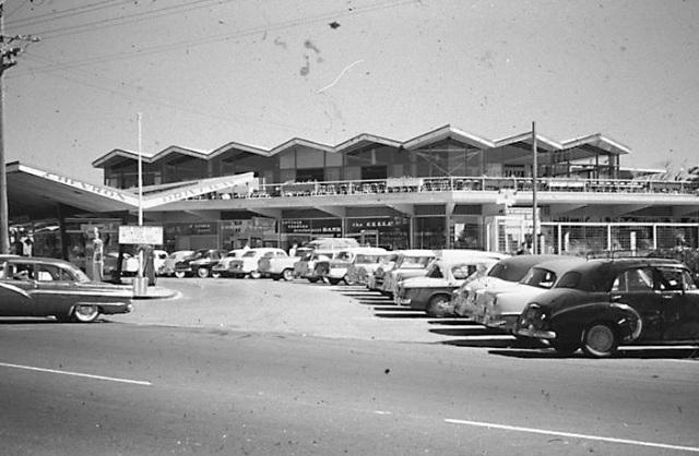 chevron hotel 1950