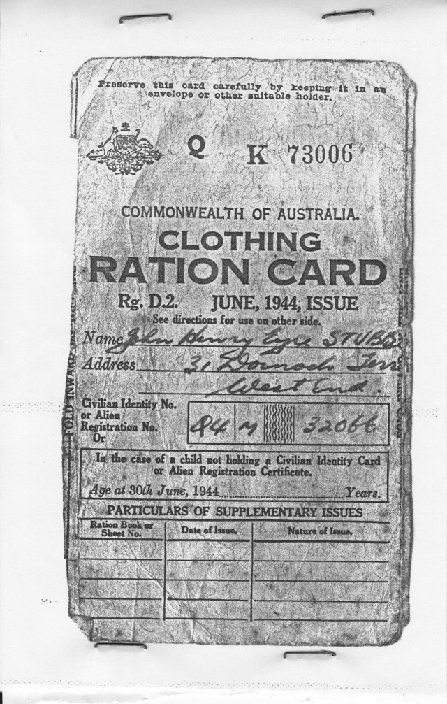 ration card page 1