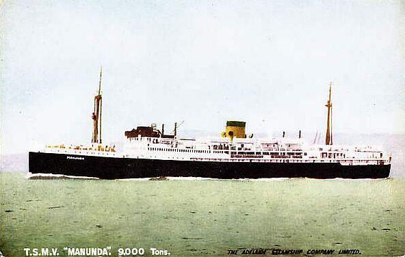 TSMV-Manunda-Postcard
