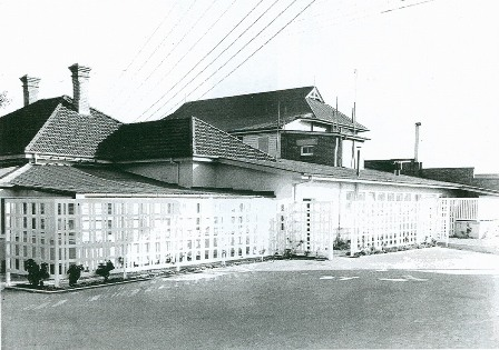 victoria barracks outside 1955