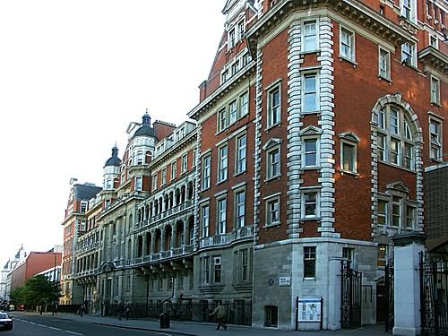 St Mary's hospital , Paddington , London